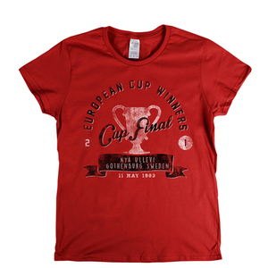 European Cup Winners Final 1983 Womens T-Shirt