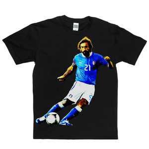 Andrea Pirlo Footballer Regular T-Shirt
