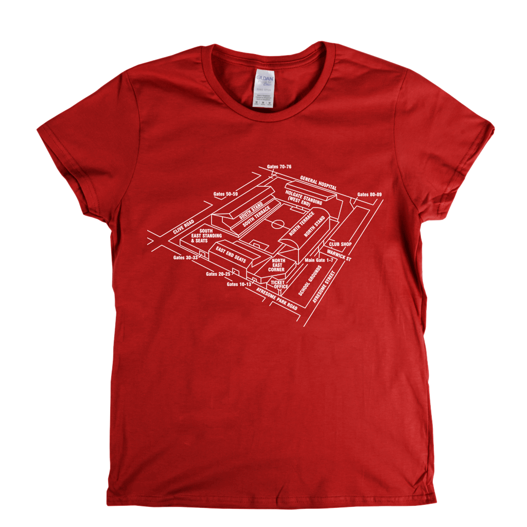Ayresome Park Womens T-Shirt