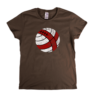 Ball Of England Womens T-Shirt