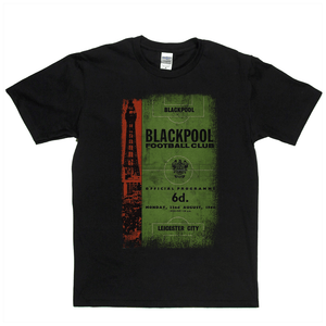 Blackpool V Leicester Regular T-Shirt