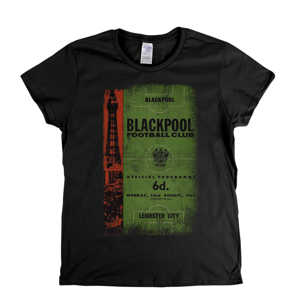 Blackpool V Leicester Womens T-Shirt