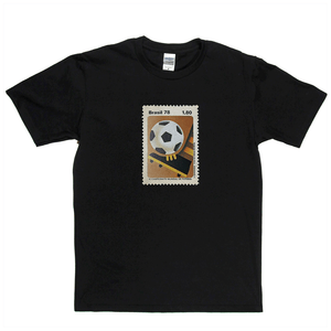 Brazil 78 Boot Stamp Regular T-Shirt