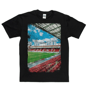 Brisbane Road Football Ground Poster Regular T-Shirt