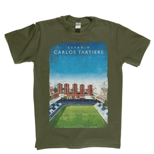 Carlos Tartiere Football Ground Poster Regular T-Shirt
