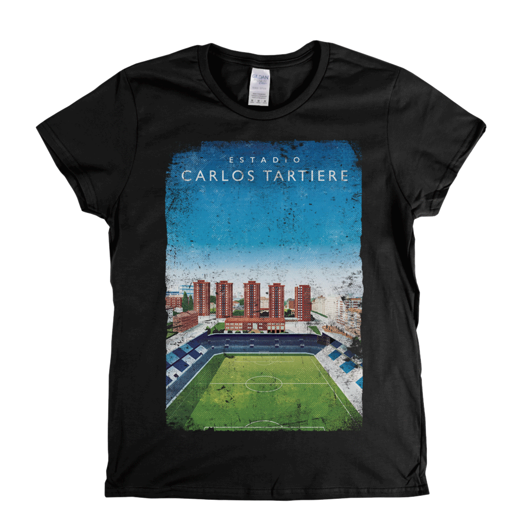 Carlos Tartiere Football Ground Womens T-Shirt