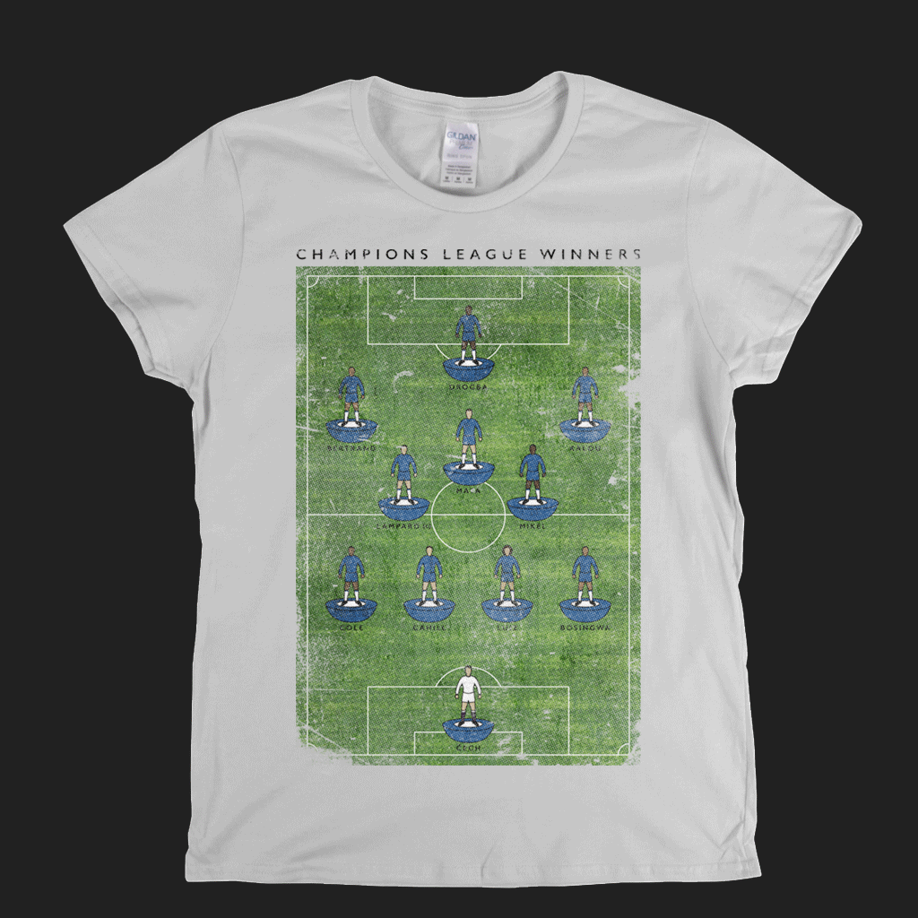 Chelsea Champions League Womens T-Shirt
