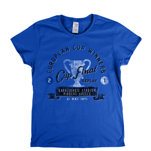 European Cup Winners Final 1971 Womens T-Shirt