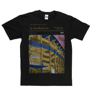 Club Atletico Boca Juniors La Bombonera Regular T-Shirt