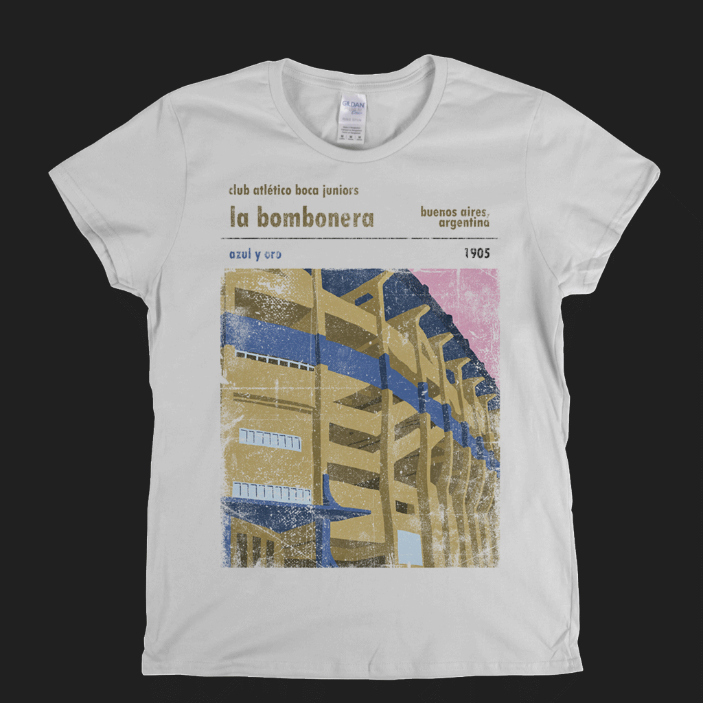 Club Atletico Boca Juniors La Bombonera Womens T-Shirt