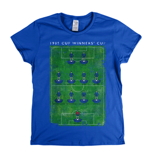 Cup Winners Cup Everton Womens T-Shirt