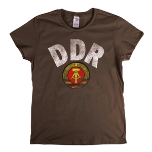 Ddr Womens T-Shirt