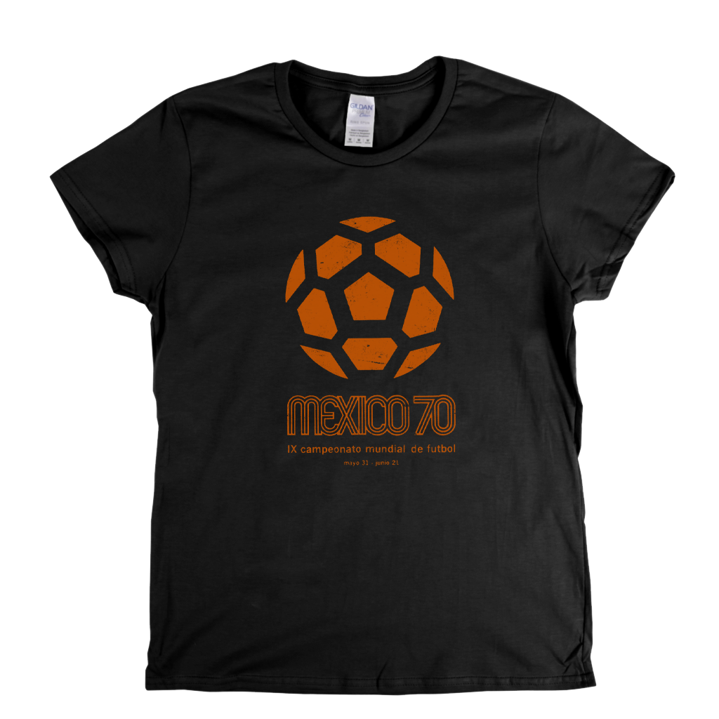 World Cup 1970 Poster Womens T-Shirt