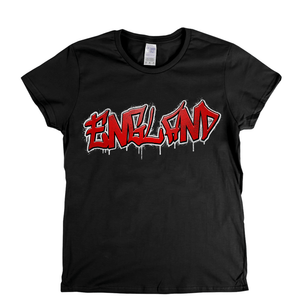 England Tag Womens T-Shirt