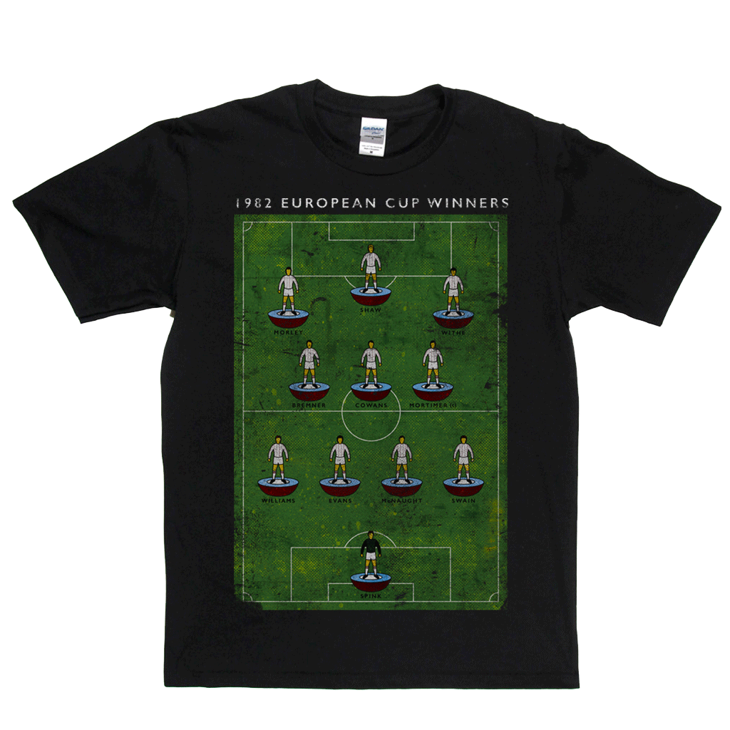 European Cup Winners 1982 Villa Regular T-Shirt