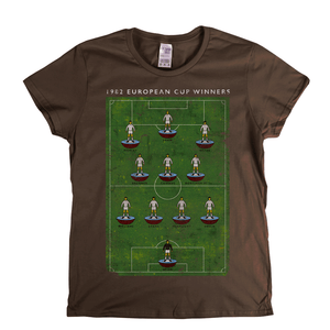 European Cup Winners 1982 Villa Womens T-Shirt