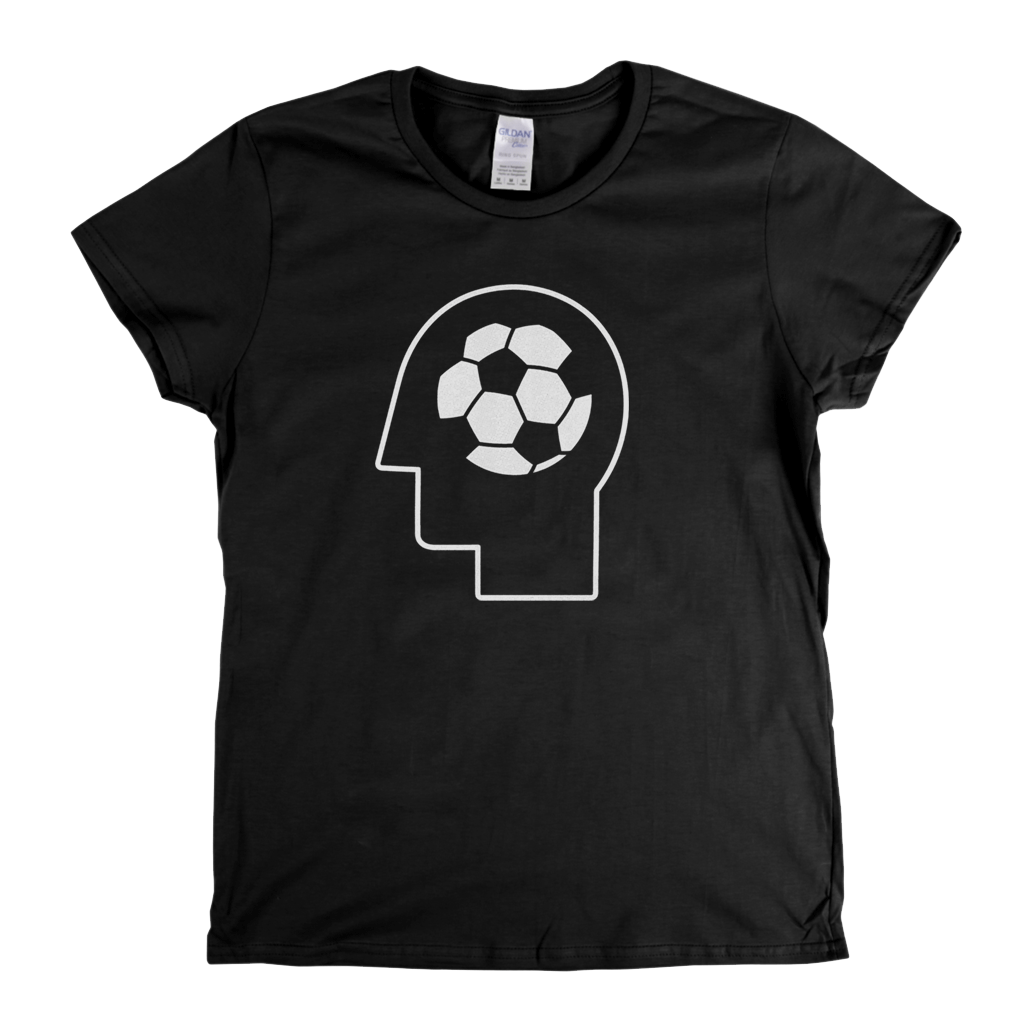 Football Head Womens T-Shirt