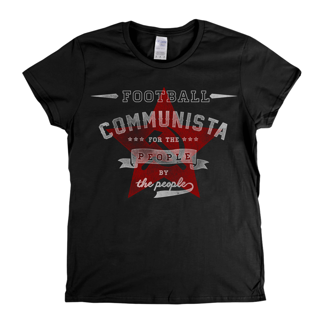 Football Communista Womens T-Shirt