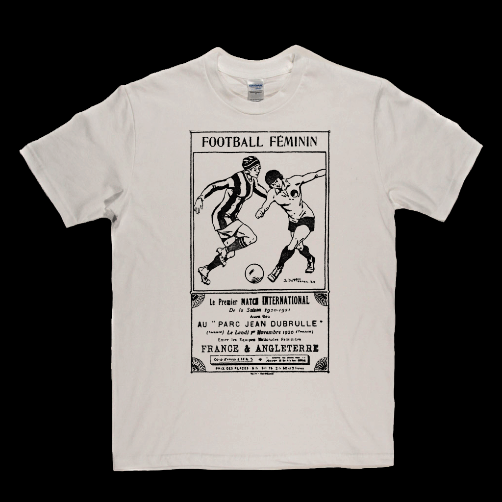Football Feminin Regular T-Shirt