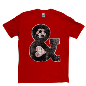Football Head And Heart Regular T-Shirt