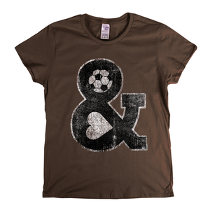 Football Head And Heart Womens T-Shirt