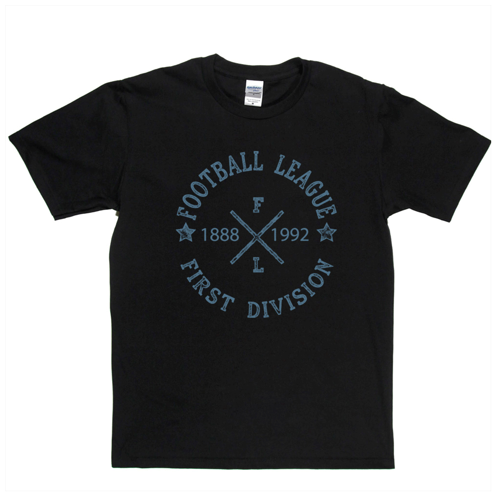 Football League First Division 1888 1992 Regular T-Shirt