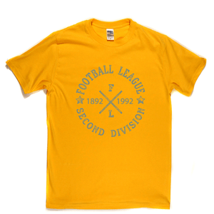 Football League Second Division 1892 1992 Regular T-Shirt