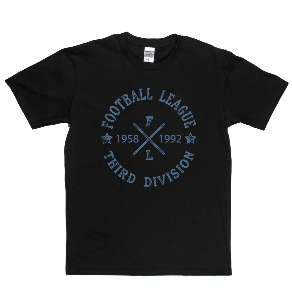 Football League Third Division 1958 1992 Regular T-Shirt