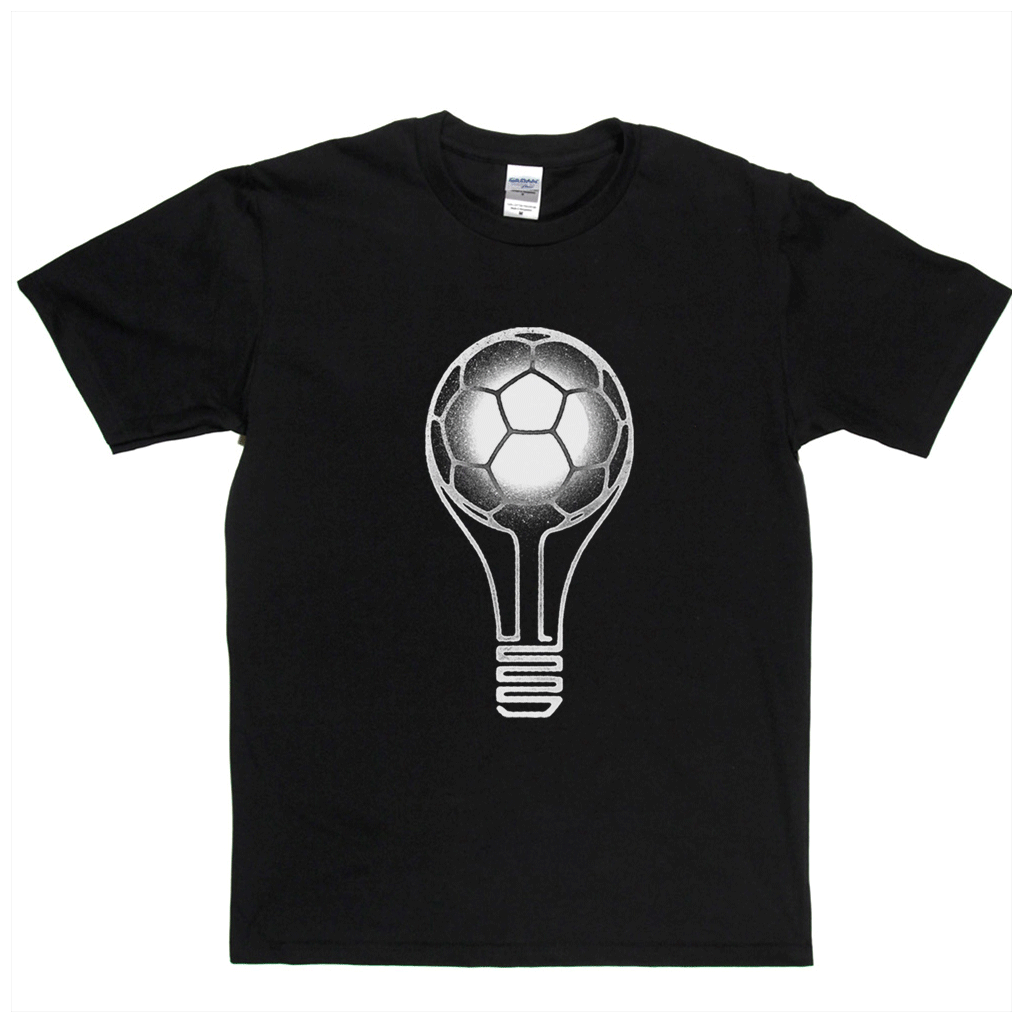Football Light Bulb Regular T-Shirt