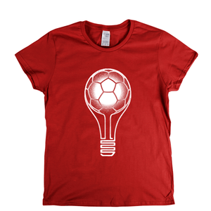 Football Lightbulb Womens T-Shirt