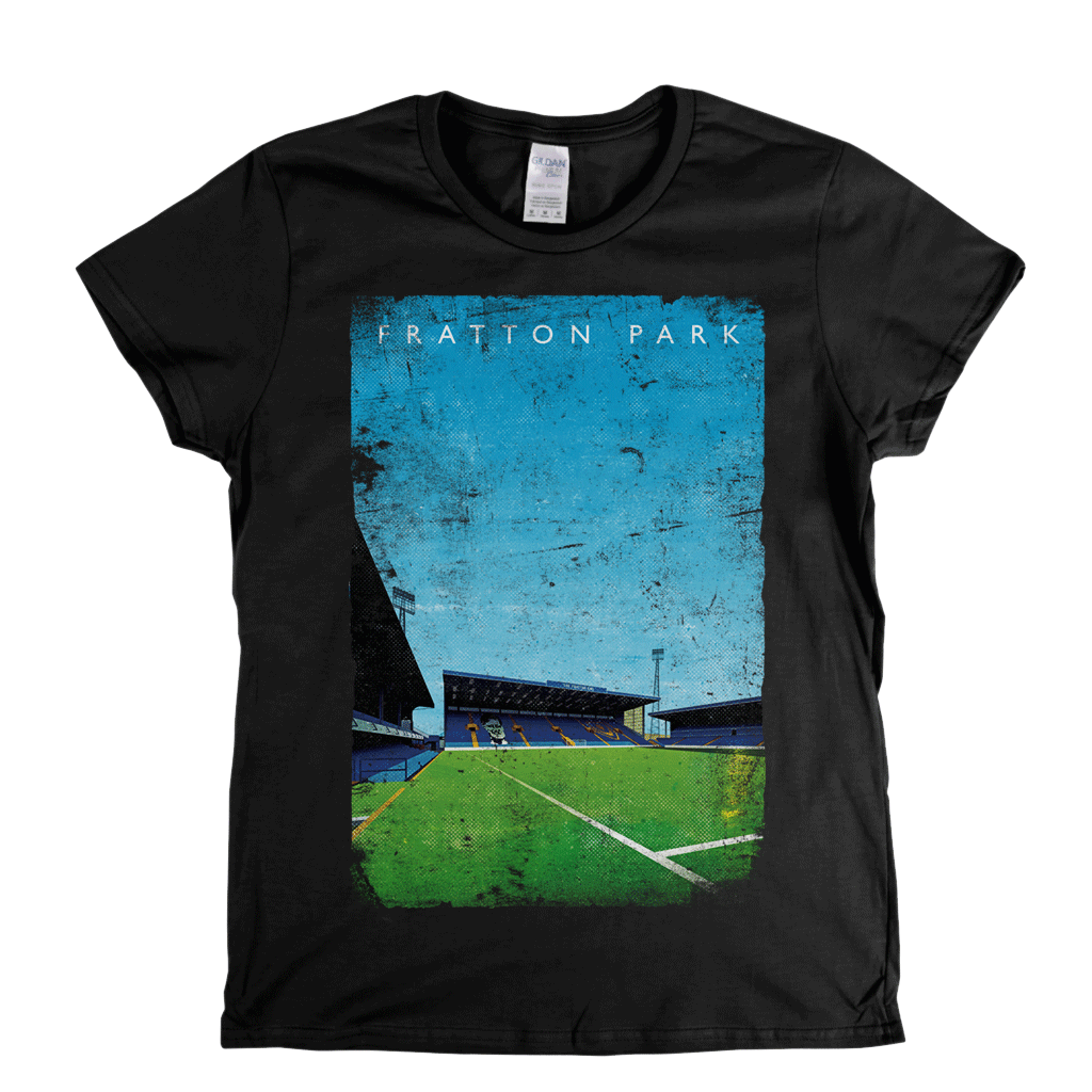 Fratton Park Poster Womens T-Shirt