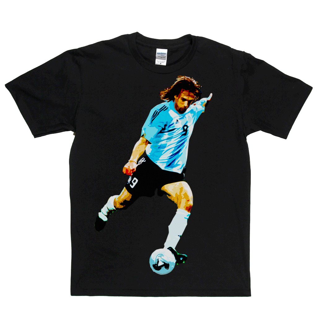 Gabriel Batistuta Regular T-Shirt