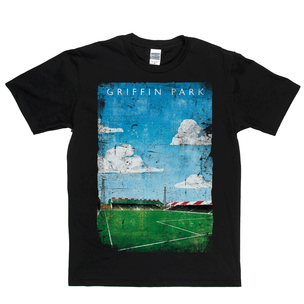 Griffin Park Football Ground Poster Regular T-Shirt