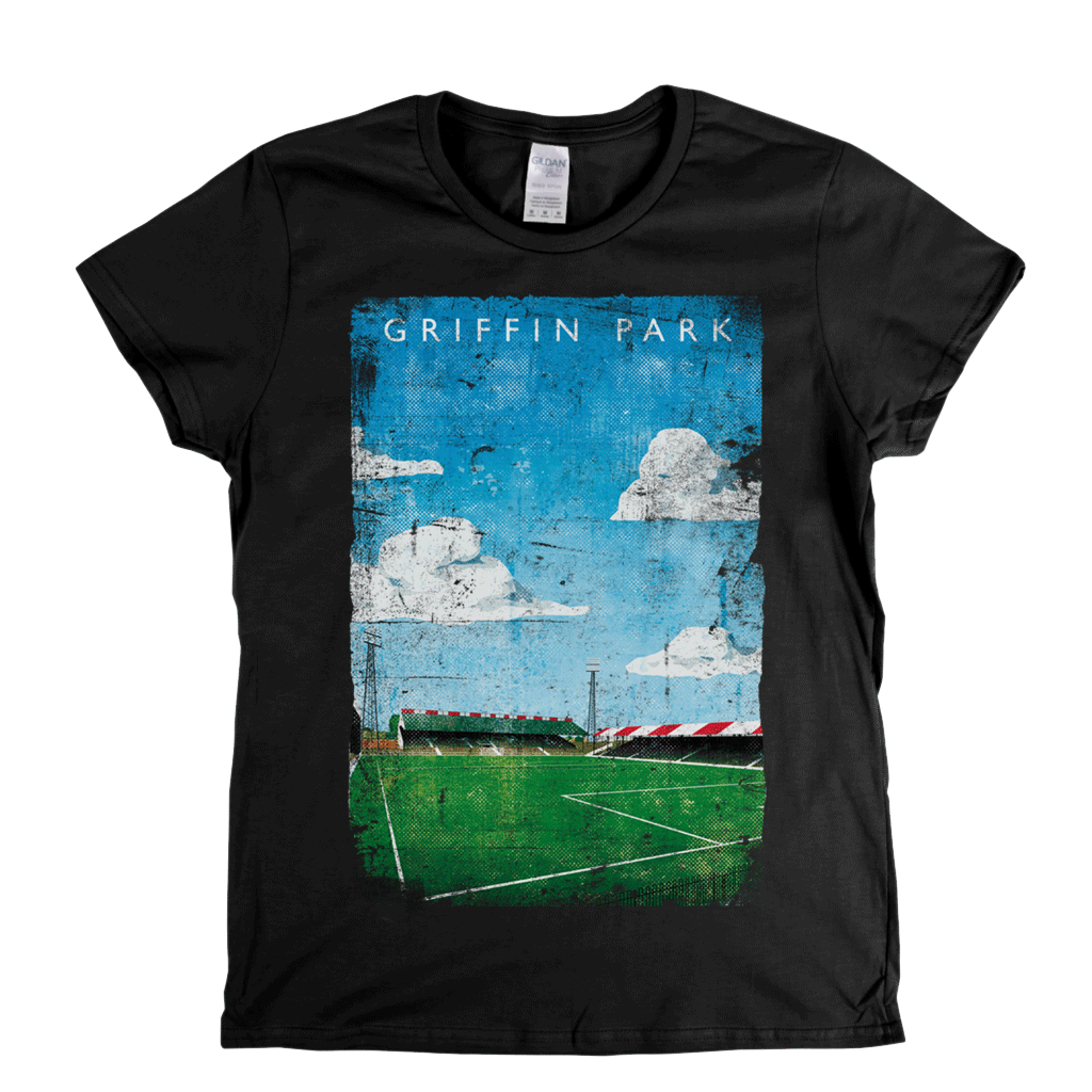 Griffin Park Football Ground Poster Womens T-Shirt