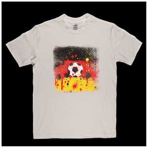 Grunge German Flag Spraypaint Regular T-Shirt