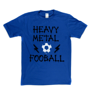 Heavy Metal Football Spraypaint Regular T-Shirt