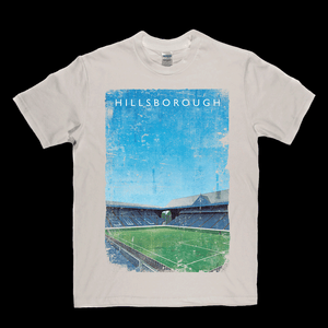 Hillsborough Kop South Stand Ground Poster Regular T-Shirt