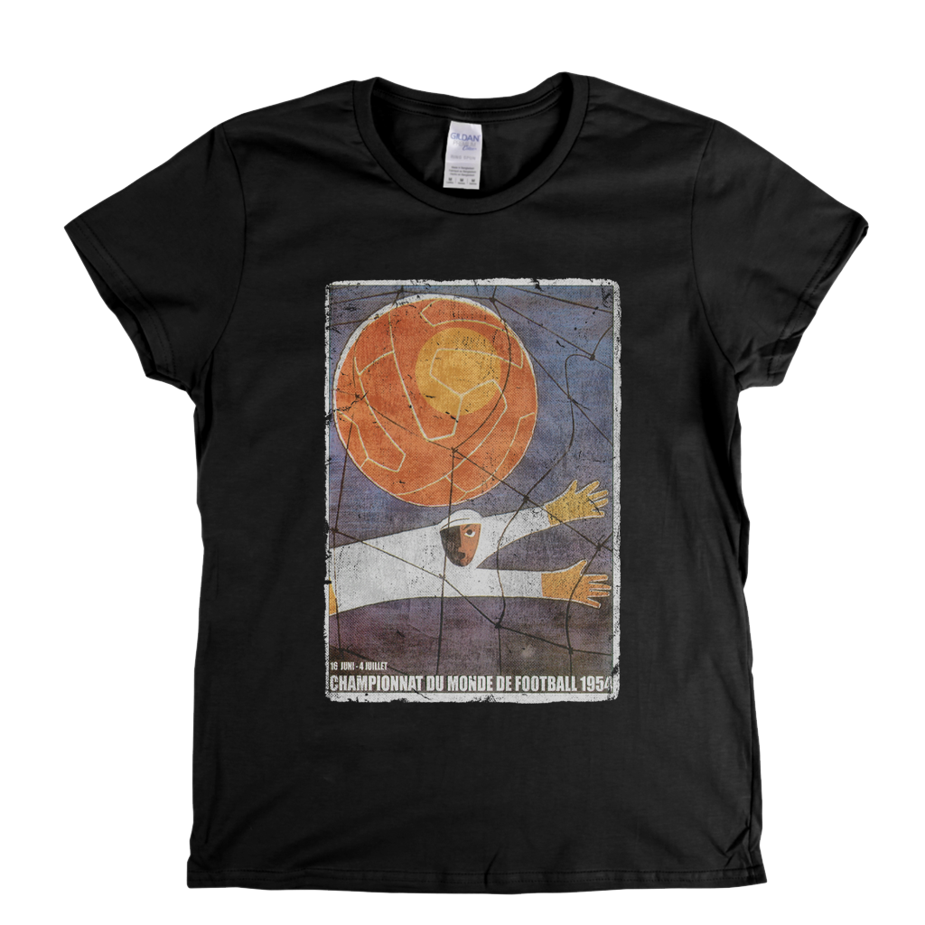 World Cup 1954 Poster Womens T-Shirt