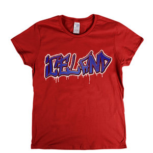 Iceland Tag Womens T-Shirt