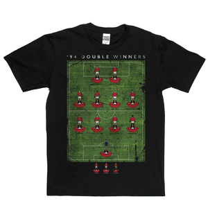Man United 94 Double Winners Regular T-Shirt