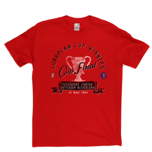 European Cup Winners Final 1991 Regular T-Shirt