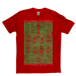 Middlesbrough League Cup Winners Regular T-Shirt