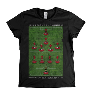Middlesbrough League Cup Winners Womens T-Shirt
