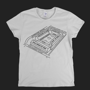 NUFC Ground Map Womens T-Shirt