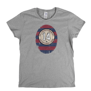 Newcastle Ginola Beer Label Womens T-Shirt