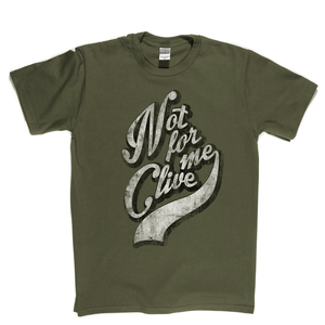 Not For Me Clive Regular T-Shirt
