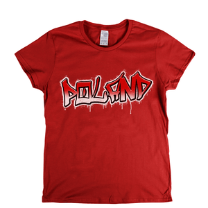 Poland Tag Womens T-Shirt