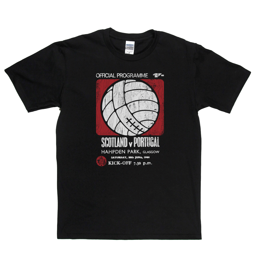 Portugal V Scotland Regular T-Shirt