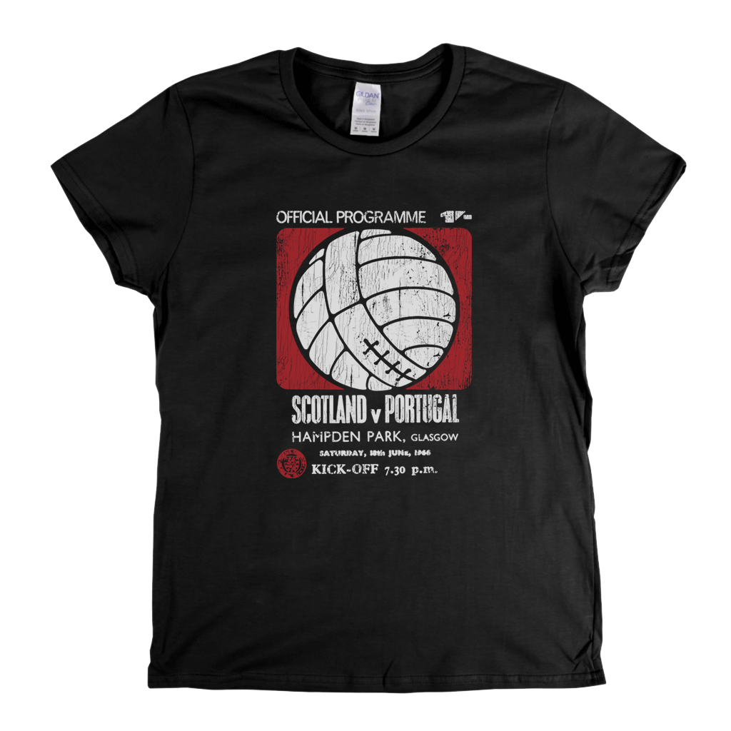 Portugal V Scotland Womens T-Shirt