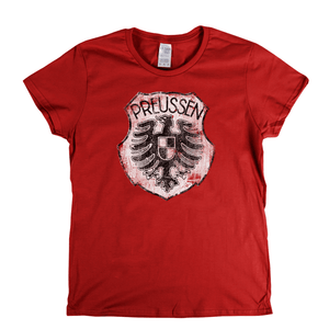 Preussen Stettin Badge Womens T-Shirt